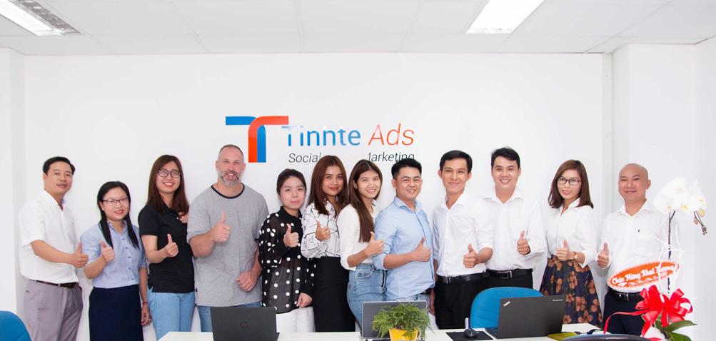 Đội ngũ nhận sự công ty Tinh Tế Ads