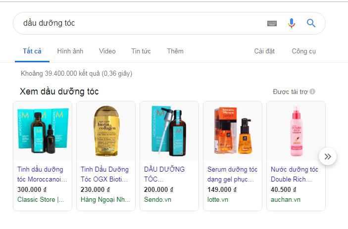 Quảng cáo google shopping - Tinh Tế Ads