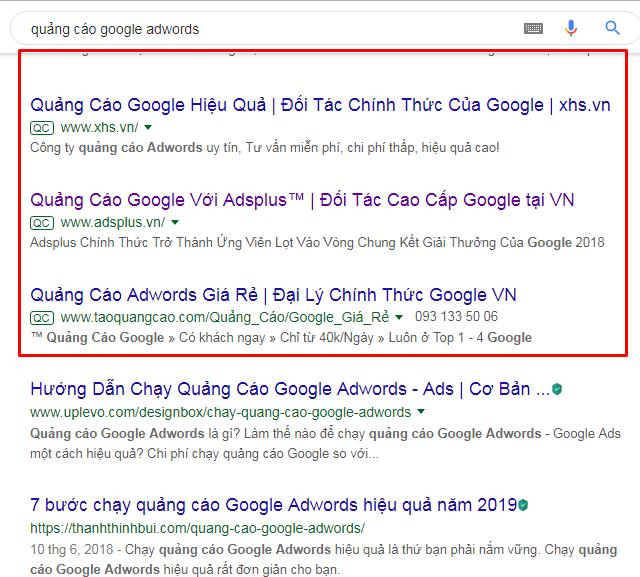 Quảng cáo google adwords - Tinh Tế Ads